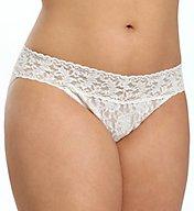 Hanky Panky Signature Lace Plus Size V-Kini Panty 482374X