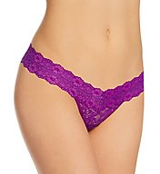 Hanky Panky Cross Dyed Signature Lace Low Rise Thong 591054
