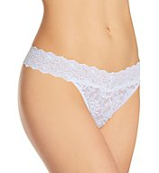 Hanky Panky Cross Dyed Signature Lace Original Rise Thong 591104