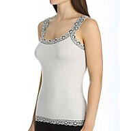 Hanky Panky Heather Jersey Trim Cami/Tank 684031