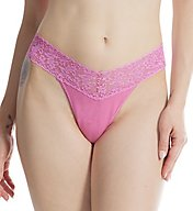 Hanky Panky Cotton With A Conscience Low Rise Thong 891581