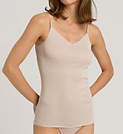 Hanro Cotton Seamless V Neck Camisole 1601